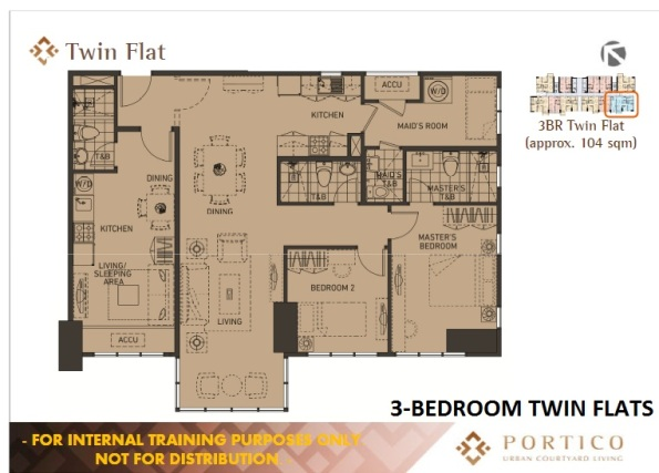 3-Bedroom Unit